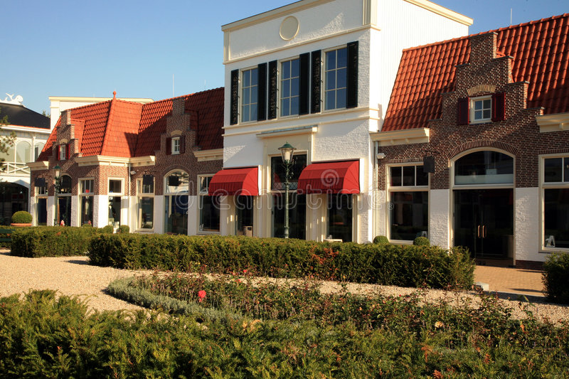 巴达维亚lelystad荷兰stad 免版税库存图片