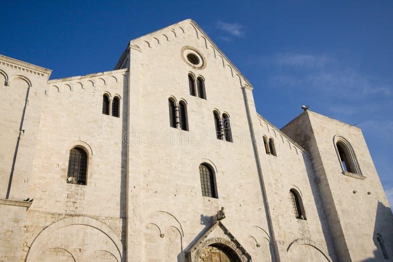 巴里大教堂nicola圣 库存照片