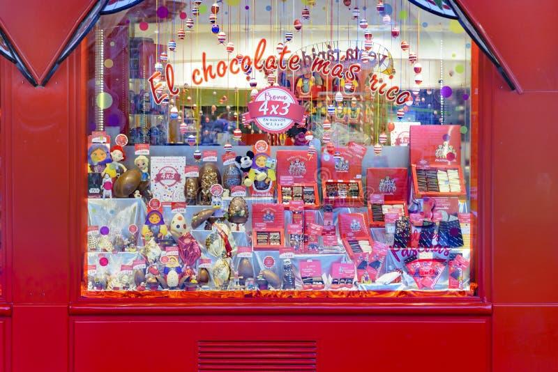 巴里洛切传统巧克力商店 免版税库存图片