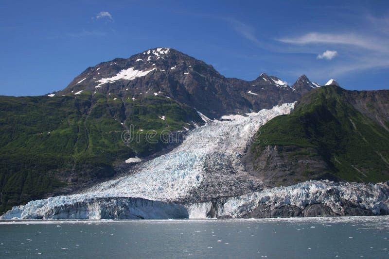 巴里级联冰川 免版税库存图片