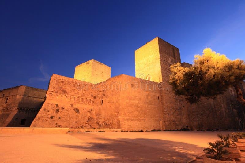巴里,意大利城堡  库存图片