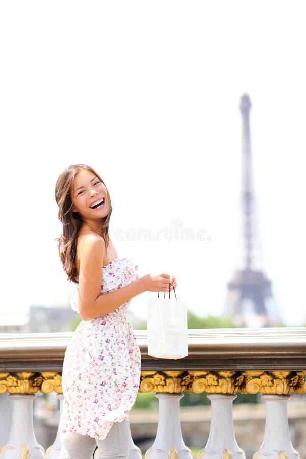 巴黎妇女 免版税库存图片