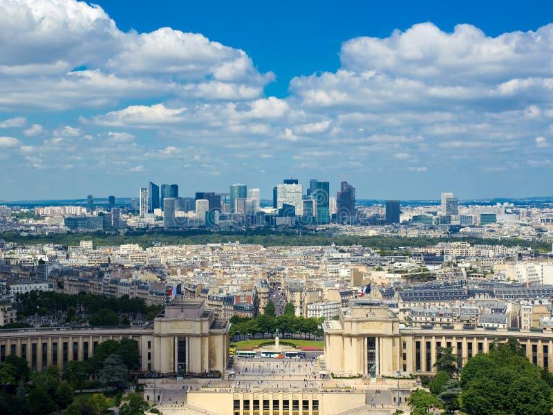 巴黎视图 库存照片
