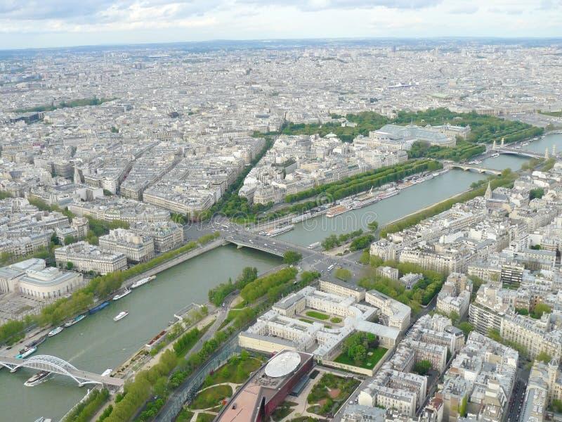 巴黎都市风景 库存照片