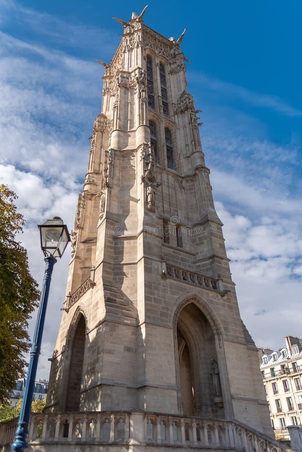 巴黎,圣雅屈埃塔 库存照片