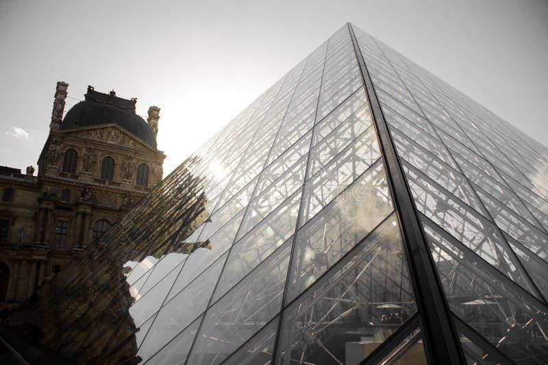 巴黎,法国- 2017年10月20日:天窗 天窗是世界` s最大的美术馆和历史的纪念碑在巴黎 免版税库存照片