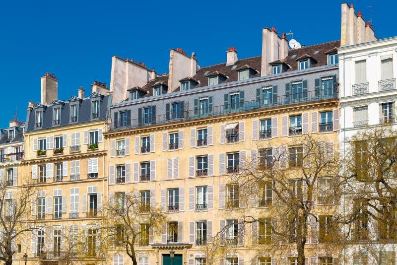 巴黎,ile圣路易斯 免版税图库摄影