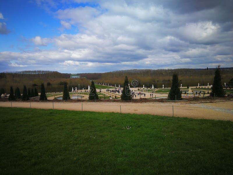 巴黎Schloss凡尔赛 免版税库存图片