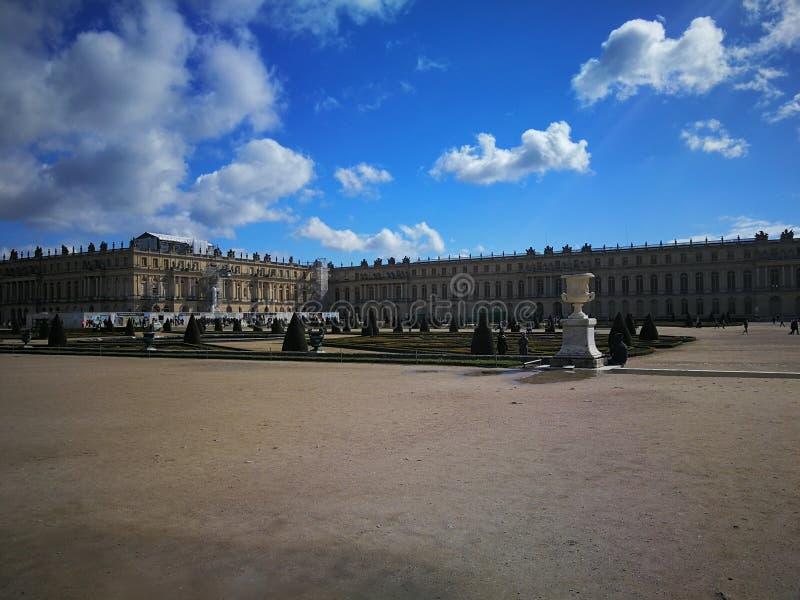 巴黎Schloss凡尔赛 库存图片