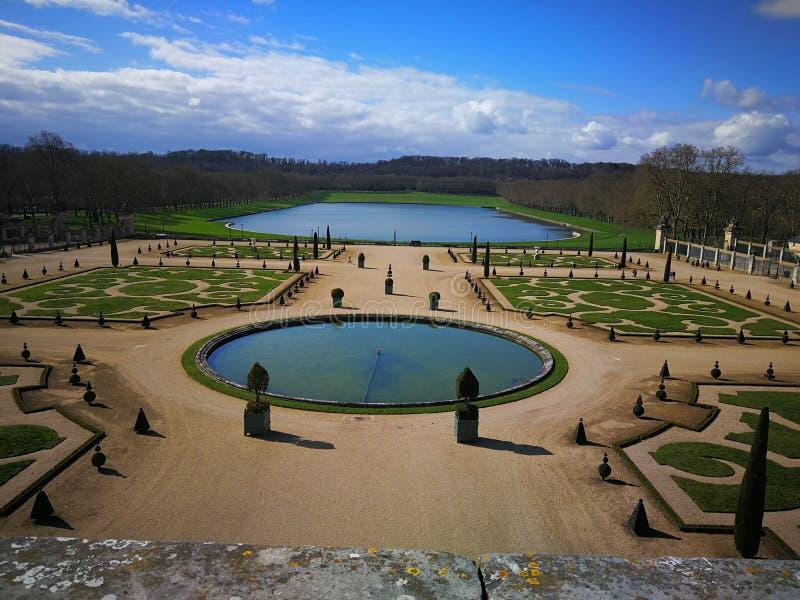 巴黎Schloss凡尔赛 库存照片