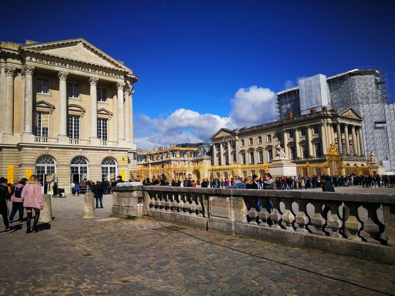 巴黎Schloss凡尔赛 免版税图库摄影