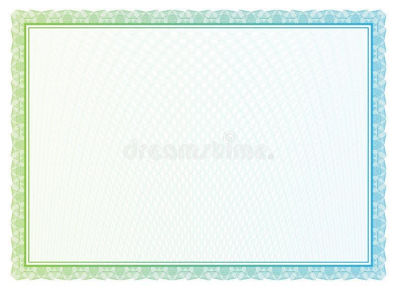 货币和文凭的传染媒介样式 库存例证