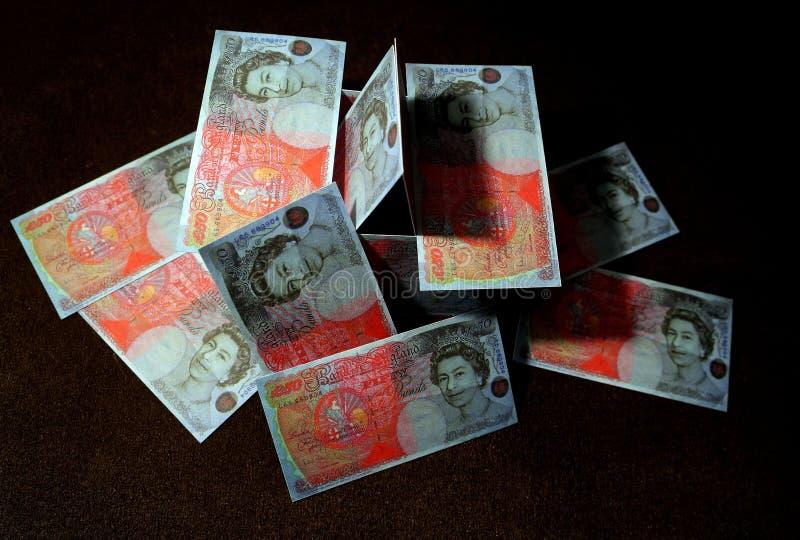 货币崩溃 免版税库存图片