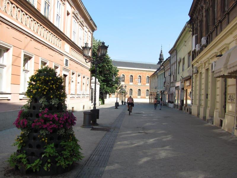 市中心-诺维萨德 免版税库存照片