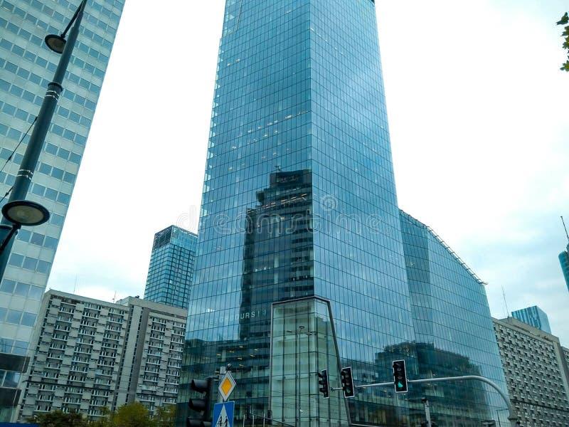 市中心 免版税库存照片