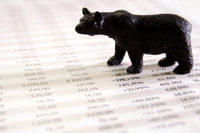 市价跌落 免版税库存图片