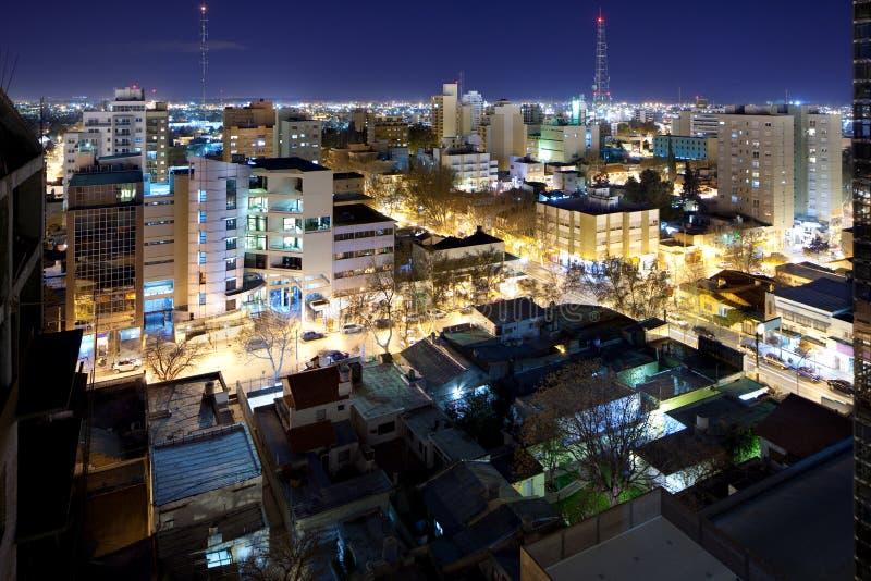 市内乌肯省 免版税库存图片