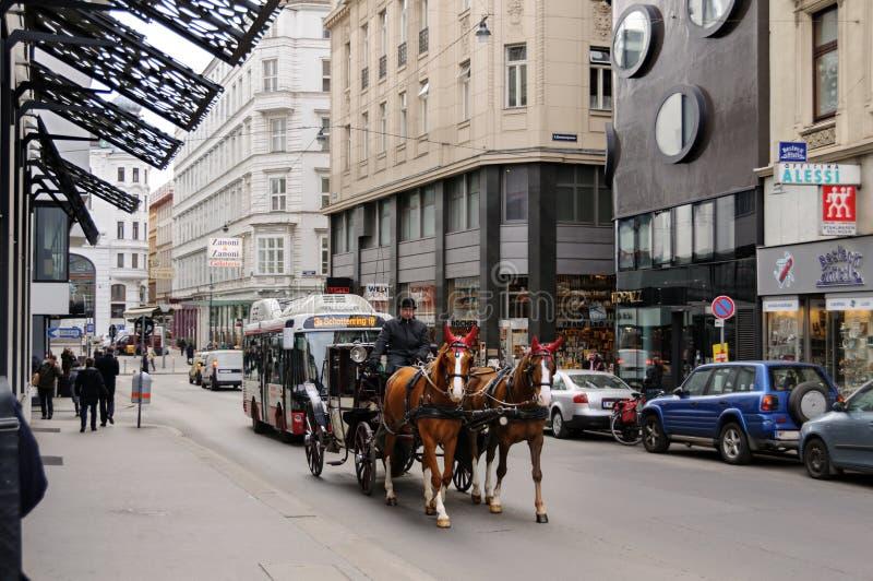 市内贫民区 奥地利维也纳 免版税库存图片