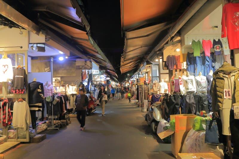 吴市分Pu便装销售购物的台北台湾 库存图片