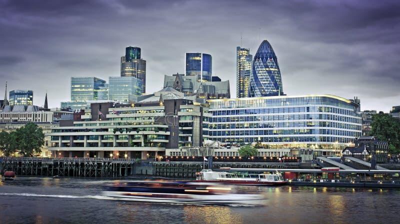 市区财务伦敦 免版税库存图片