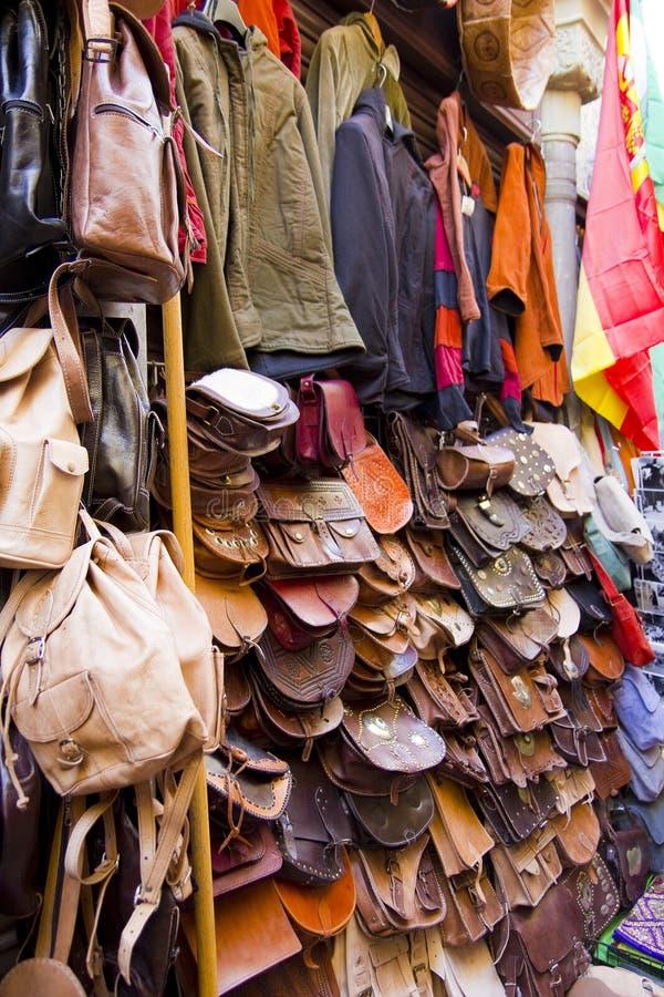 市场东方人 格拉纳达 免版税图库摄影
