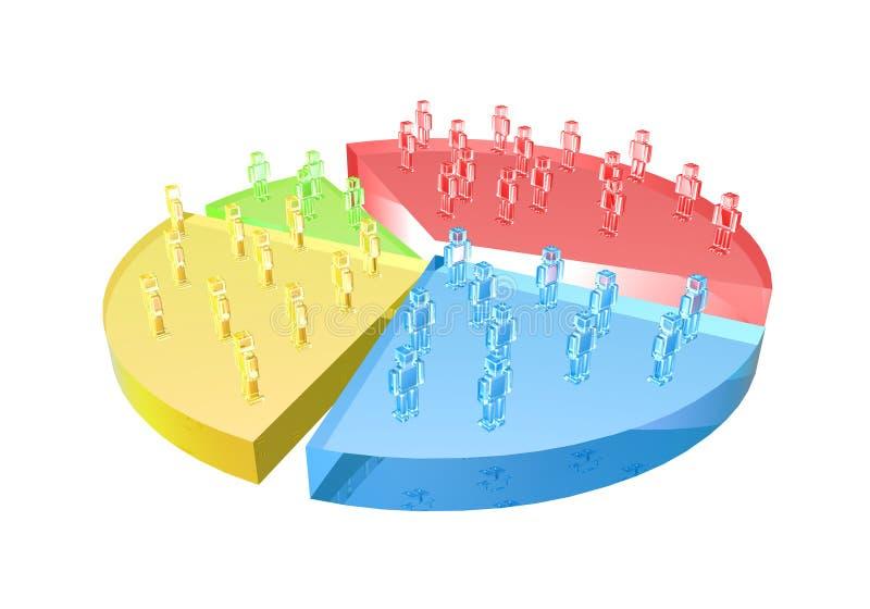 Download 市场份额 库存例证. 插画 包括有 季度, 无政府主义, 商业, 财务, 蓝色, 设计, 图象, 客户, 公司 - 185002