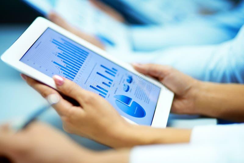 市场分析 免版税库存图片