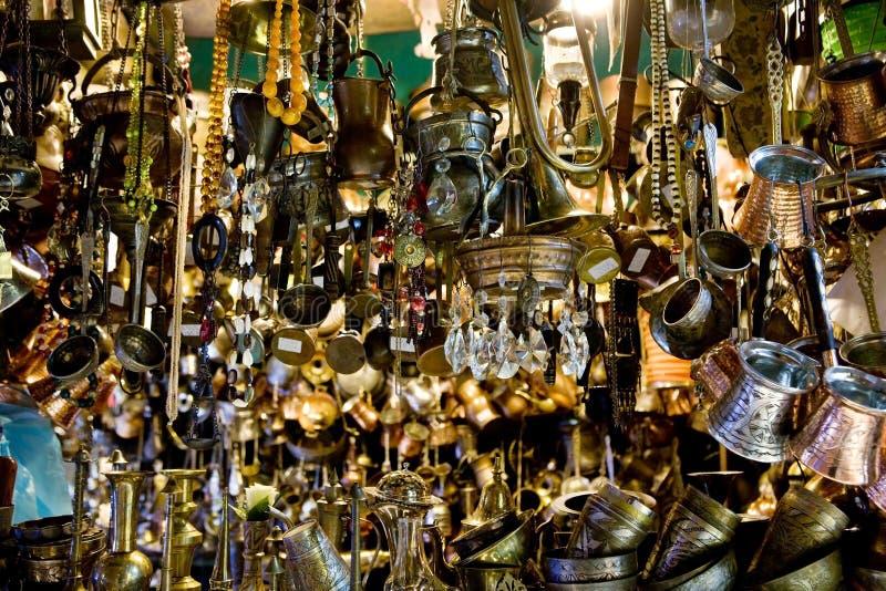 市场在伊斯坦布尔 免版税库存图片