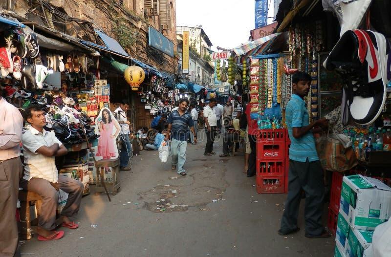 市场在加尔各答 库存图片