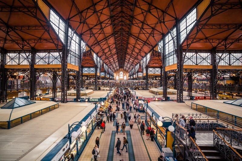 市场在匈牙利 免版税库存图片