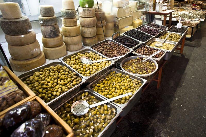 市场在干尼亚州 免版税库存图片