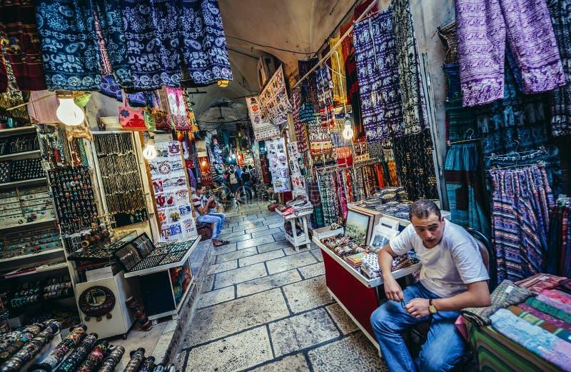 市场在耶路撒冷 库存图片