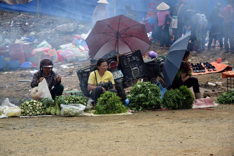 市场在越南 免版税库存图片