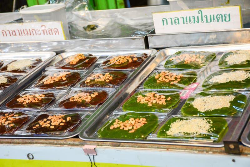 市场在阿尤特拉利夫雷斯,泰国 免版税库存图片