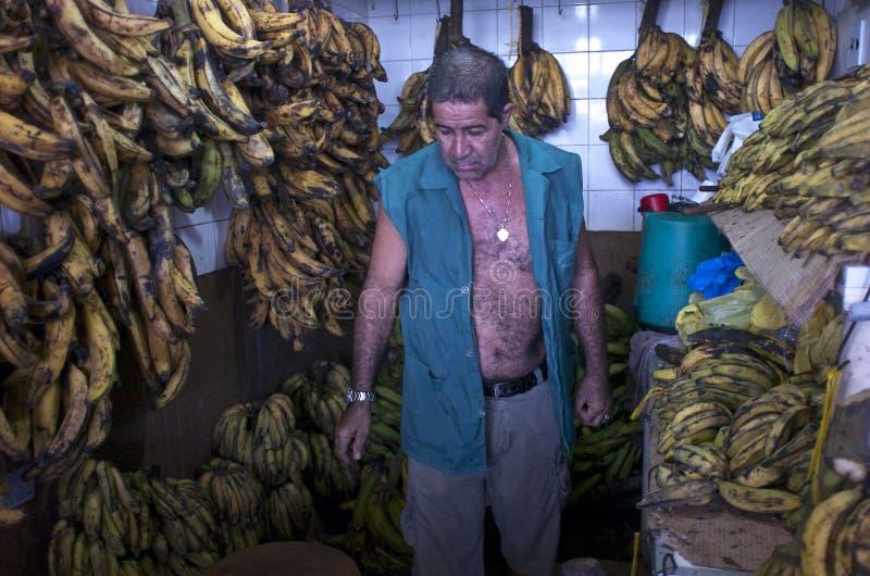 市场在马瑙斯。巴西 免版税图库摄影