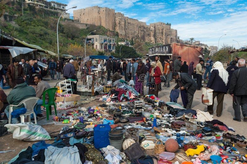 市场在黎巴嫩 免版税库存照片