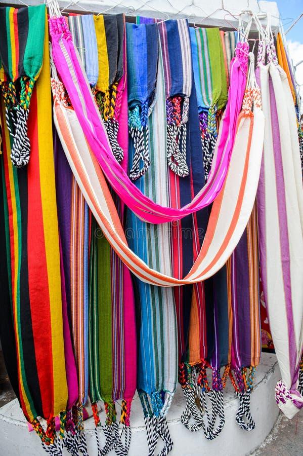 市场在Otavalo,厄瓜多尔 免版税图库摄影