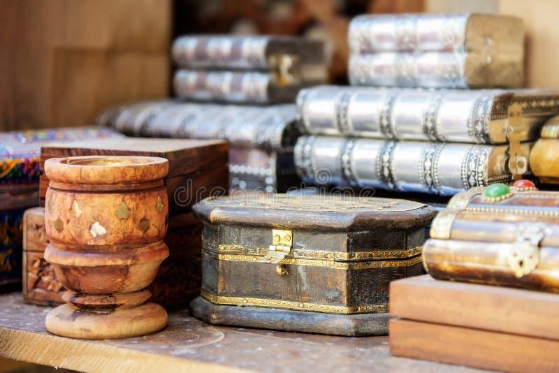 市场尼兹瓦阿曼 免版税库存照片