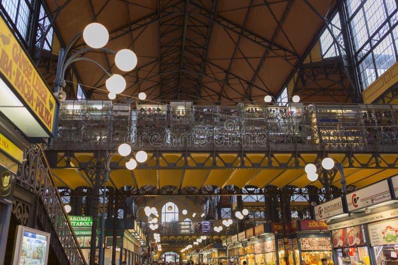 市场布达佩斯 库存照片