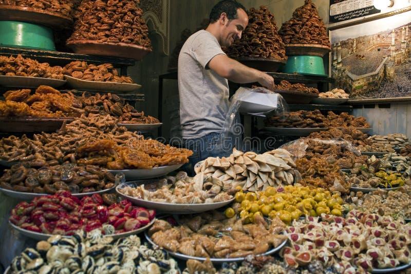 市场摩洛哥 免版税库存图片