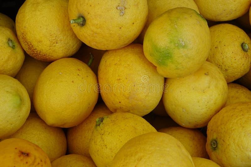 从市场的柠檬小组 免版税库存图片