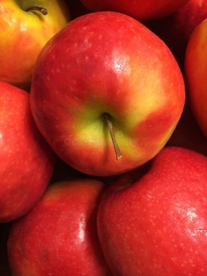 市场苹果 免版税库存照片