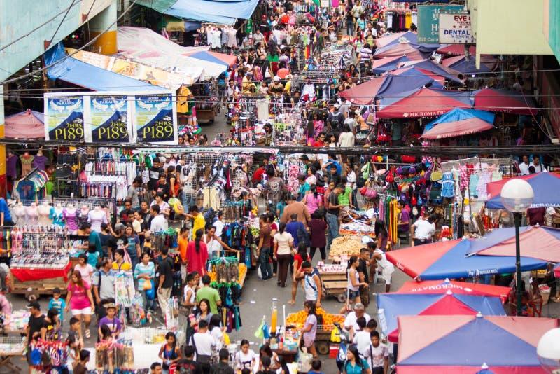 市场菲律宾街道 库存照片