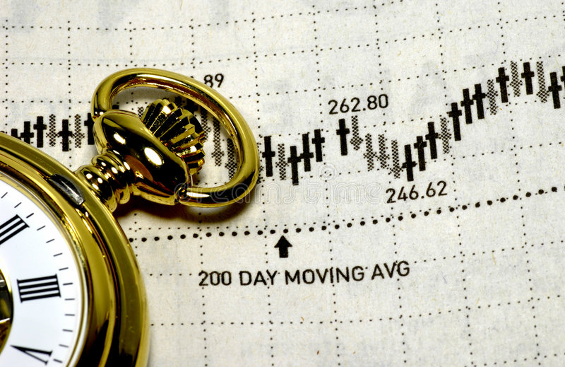 市场规定期限 库存照片