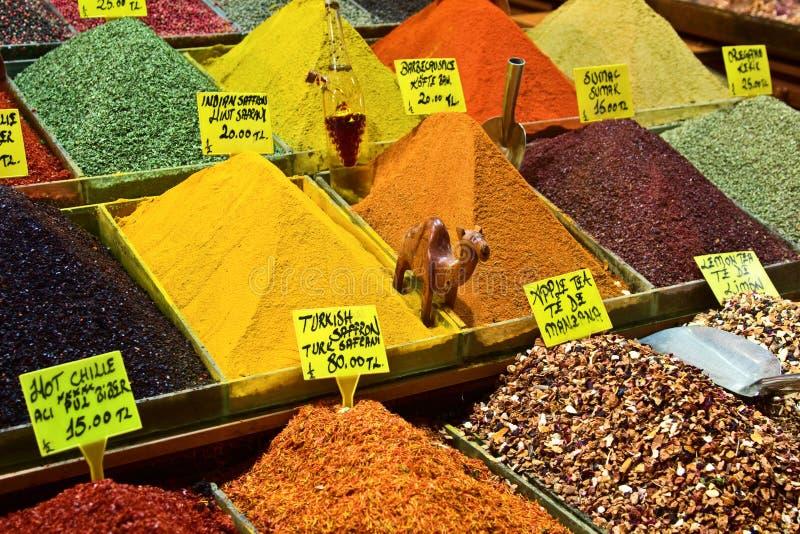 市场香料 免版税库存图片