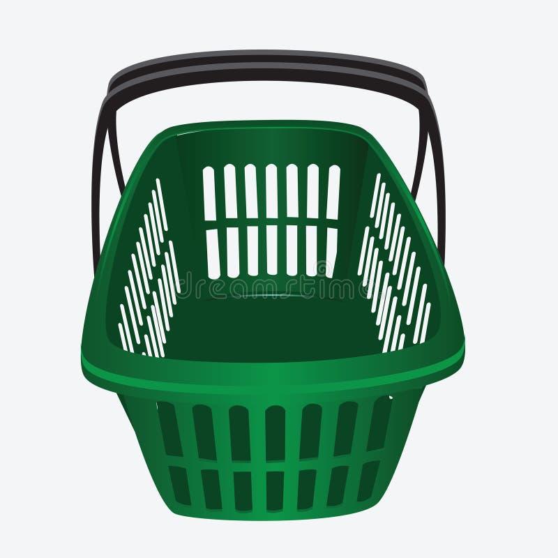 市场BasketÑ 皇族释放例证