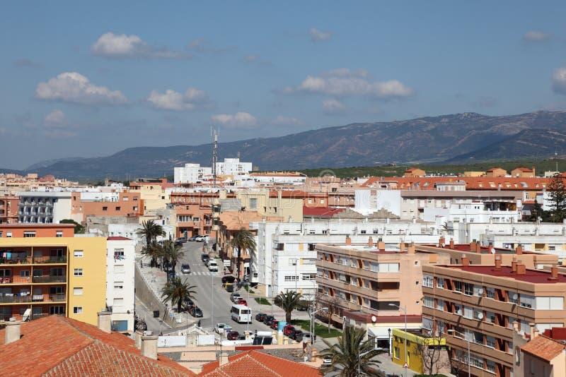 市塔里法角,西班牙 免版税库存图片