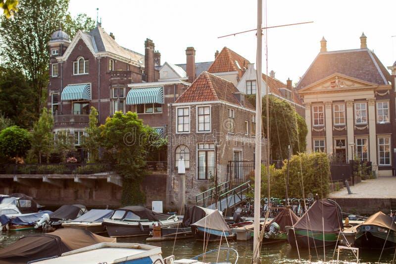 市多德雷赫特,荷兰 免版税库存图片