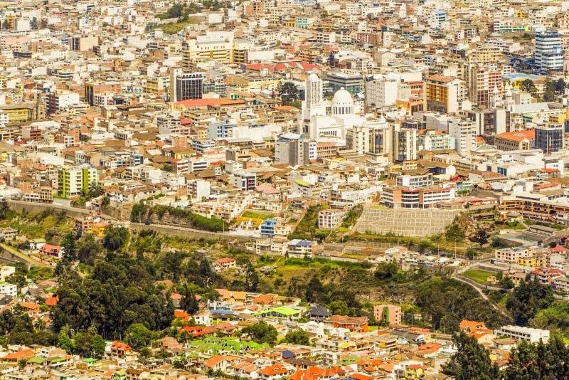 市安巴托厄瓜多尔 库存照片