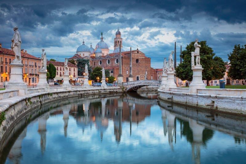 市帕多瓦,意大利 免版税库存照片